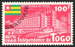 Togo-Poste aérienne-34