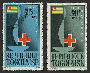 Togo-Poste-385/86