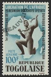 Togo-Poste aérienne-44