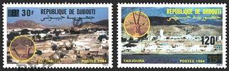 Djibouti-Poste-660/61