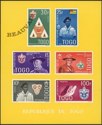 Togo-Blocs-5 jaune DF