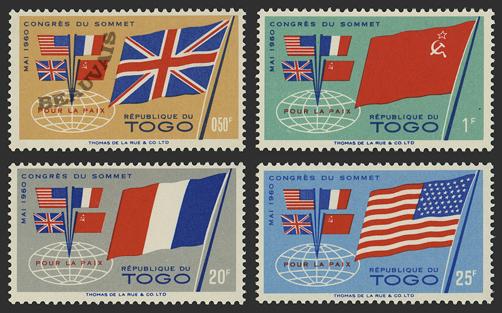 Togo-Poste-315/18