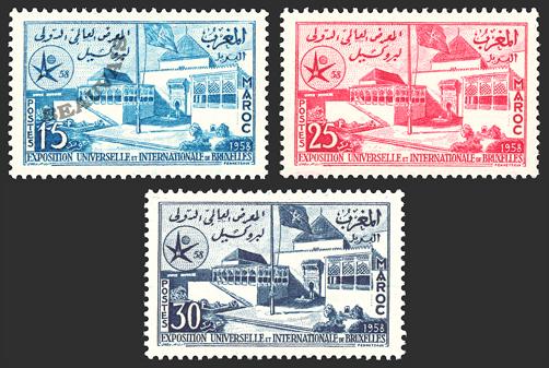 Maroc-Poste-383/85