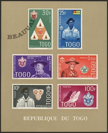 Togo-Blocs-5 cham. DF
