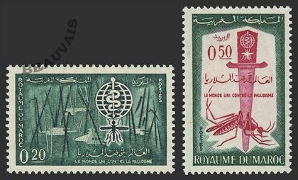 Maroc-Poste-446/47