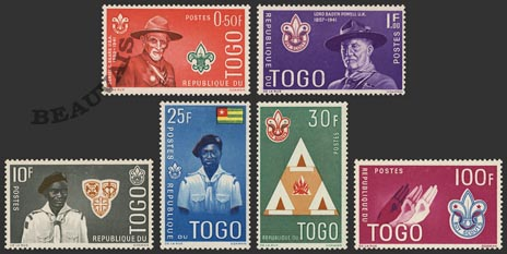 Togo-Poste-334/39