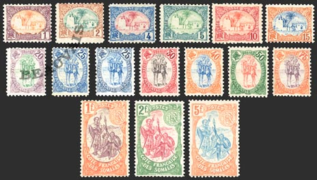 Cote des Somalis-Poste-37/52