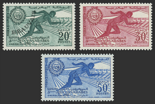Maroc-Poste-421/23