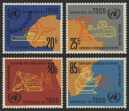 Togo-Poste-340/43