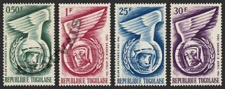 Togo-Poste-350/53