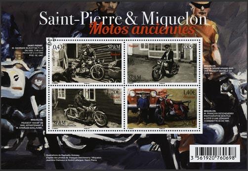 Saint-Pierre et Miquelon - 2017/11 - Motos anciennes