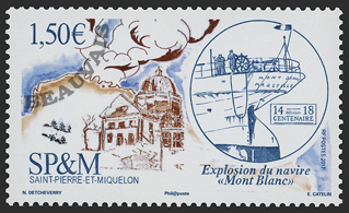 Saint-Pierre et Miquelon - 2018/01 - Explosion Halifax