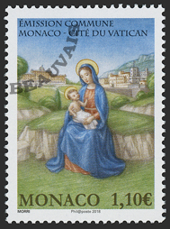 Monaco - 2018/02 - Monaco-Vatican - La nativité