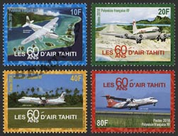 Polynésie - 2018/02 - 60 ans Air Tahiti