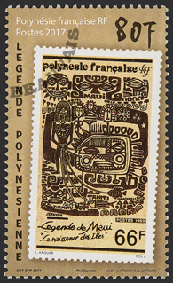 Polynésie - 2018/02 - Légende polynésienne