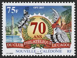 Nouvelle Calédonie - 2018/01 - 70 ans du club philatelique Cagou