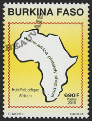 Burkina - 2017/04 - Hub philatélique africain