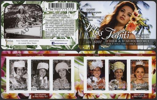 Polynésie - 2017/11 - Miss Tahiti 2016