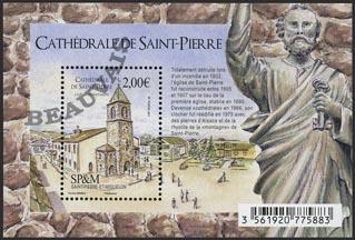Saint-Pierre et Miquelon - 2018/01 - 110 ans de la Cathédrale de Saint Pierre