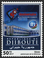 Djibouti - 2018/04 - 50ème anniv. de la télévision