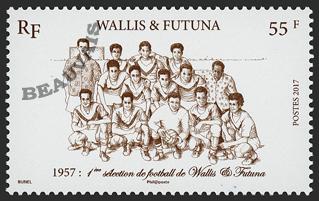 Wallis et Futuna - 2017/12 - Wallis d'autan - Foot 1957
