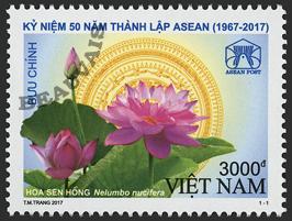 Viet-Nam - République - 2017/11 - ASEAN - Fleur