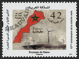 Maroc - 2018/01 - 42eme anniv. de la marche verte