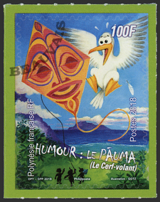 Polynésie - 2018/07 - Humour - Le cerf-volant