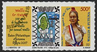 Wallis et Futuna - 2017/12 - Salon d'automne Paris 2017 - autoadhésif