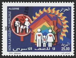 Algérie - 2017/04 - Non à la violence familiale