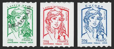 France-Autoadhésifs-862/64